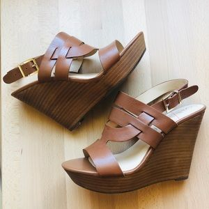Sole Society Wedge Sandals sz 7